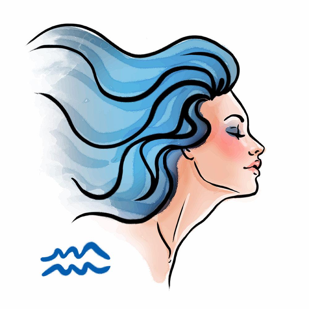 Aquarius Woman Sign - Libra Man And Aquarius Woman Compatibility
