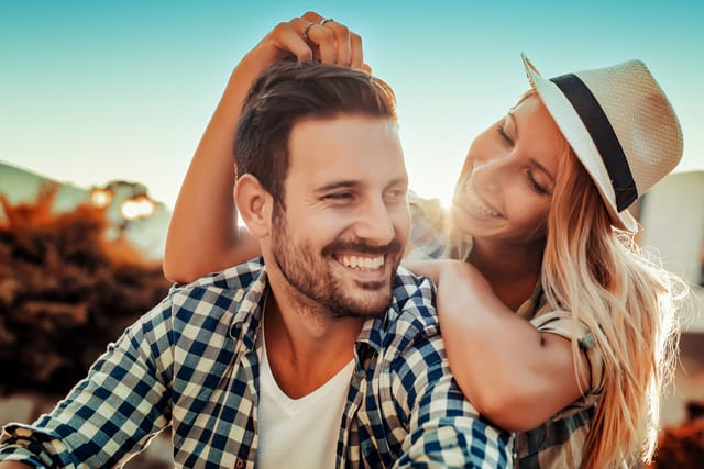 Happy Couple - How To Attract A Libra Man July 2021